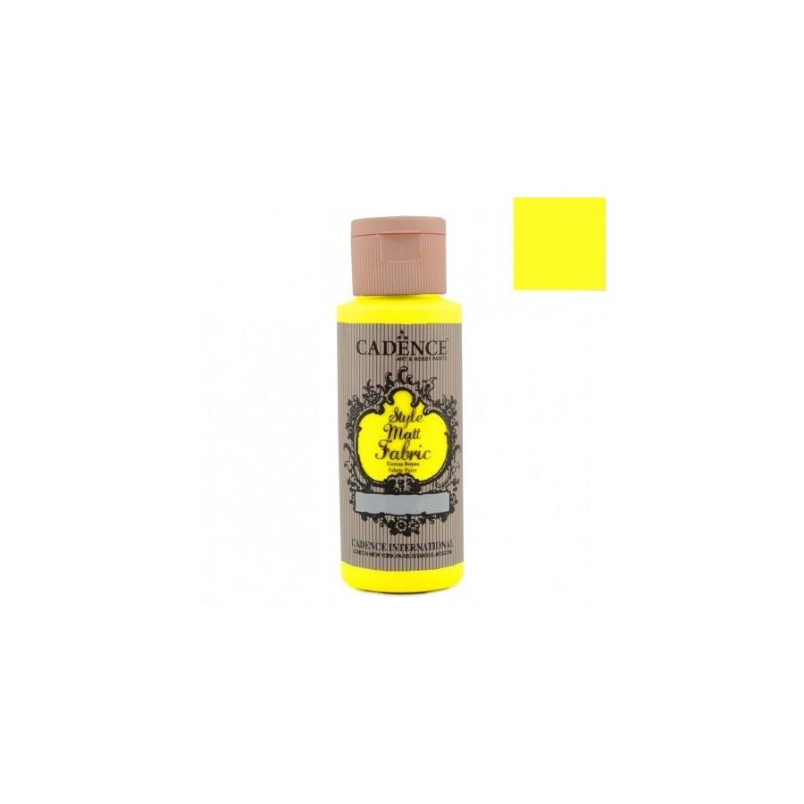 STYLE MATT FABRIC - Amarillo Fluorescente