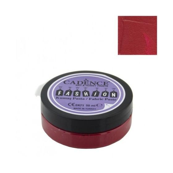 Pasta Textil FASHION - Rojo