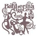 Stencil Shadow bailarina