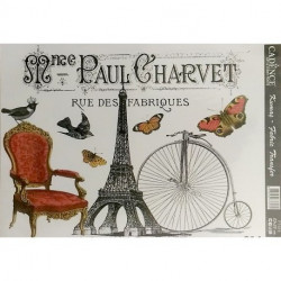 Transfer para tejidos Paul Charvet