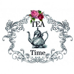 Transfer HOME DECOR Tea Time