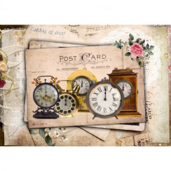 Papel de arroz relojes post cart