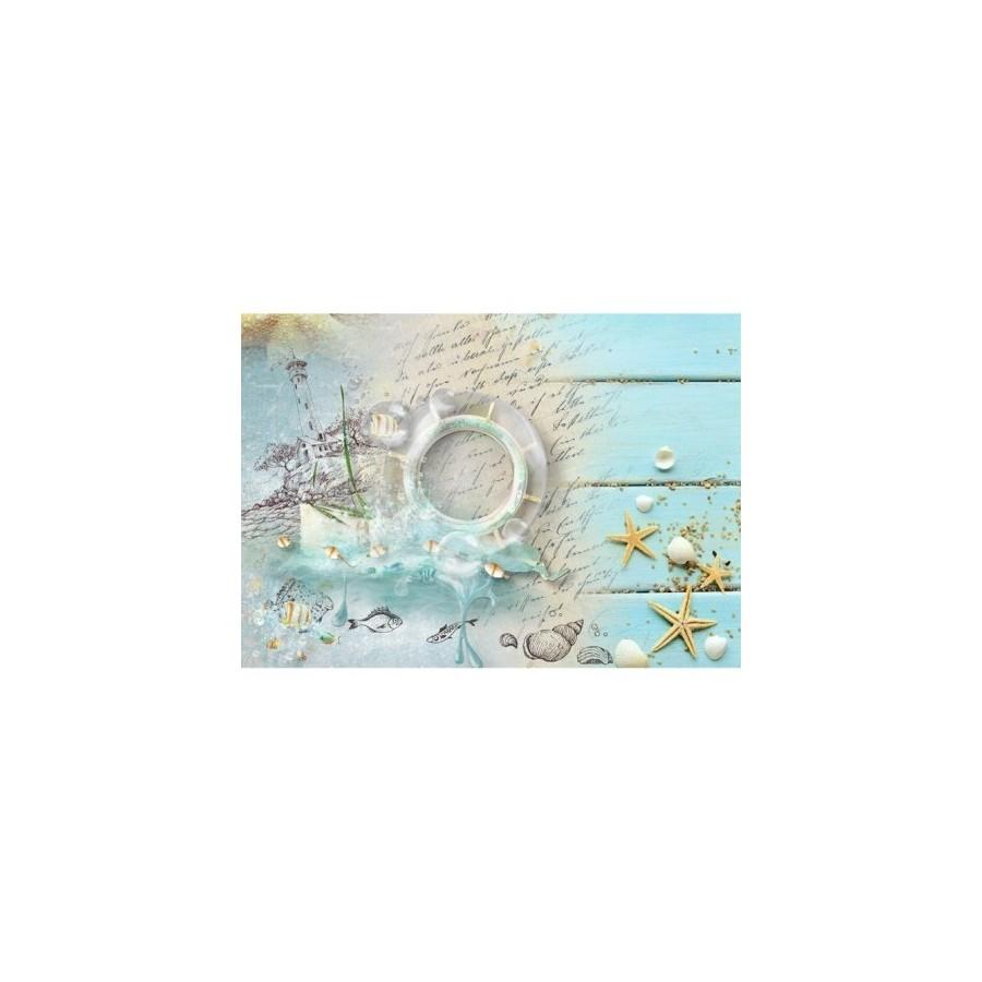 Papel de arroz marina timón