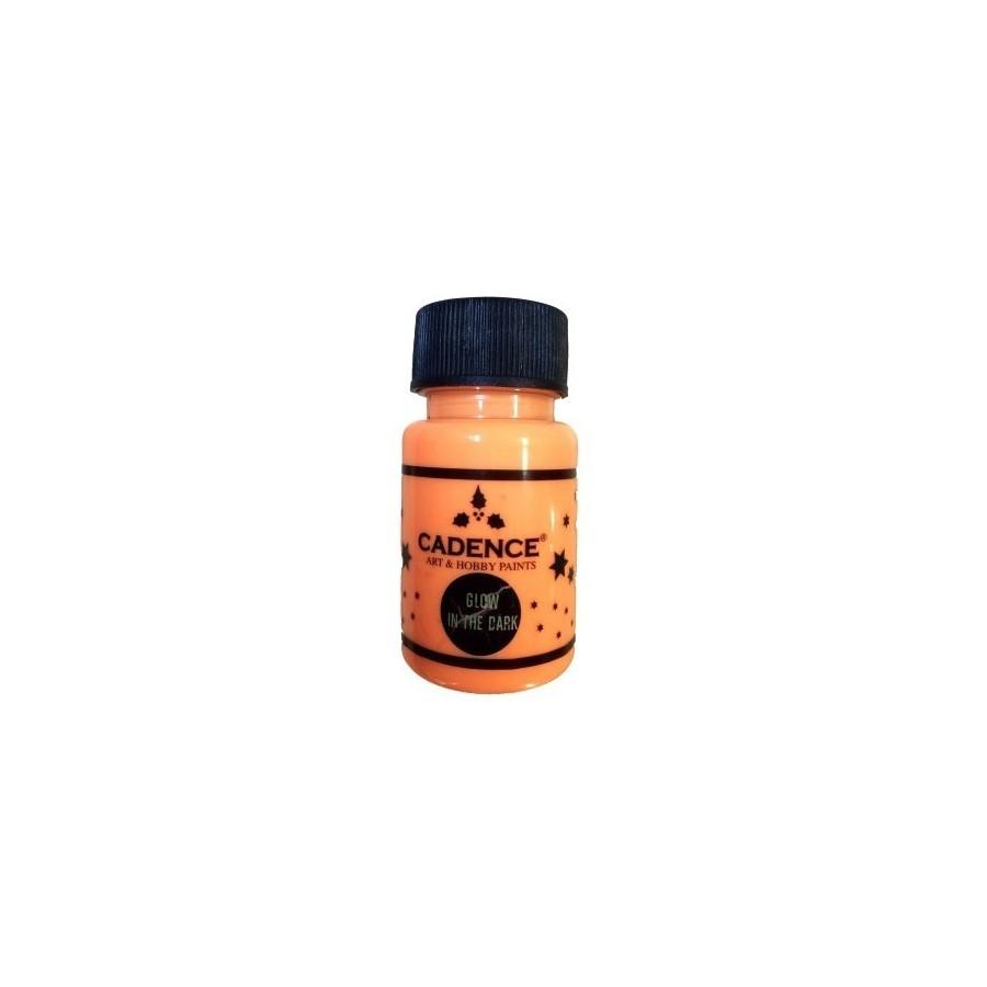 GLOW IN THE DARK naranja 50 ml