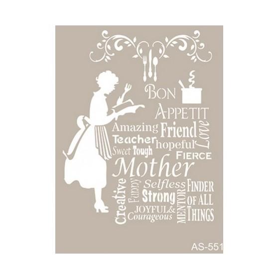 Stencil MOTHER