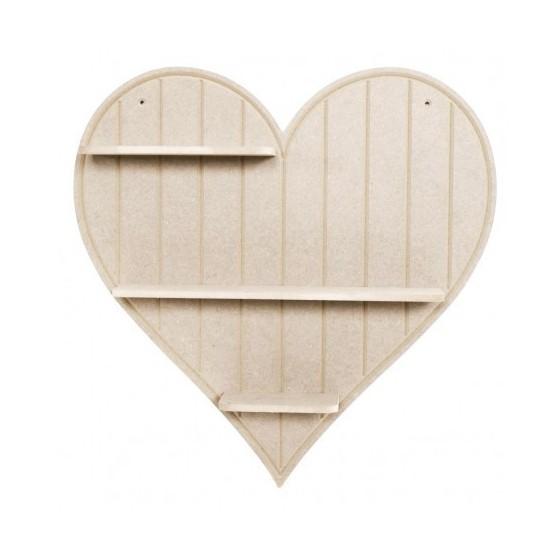 Estantería Corazón DM CADENCE 51x51x8.5