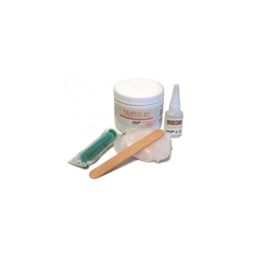 KIT Silicona para moldes 500gr