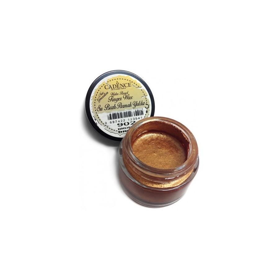 Finger Wax Cadence bronce