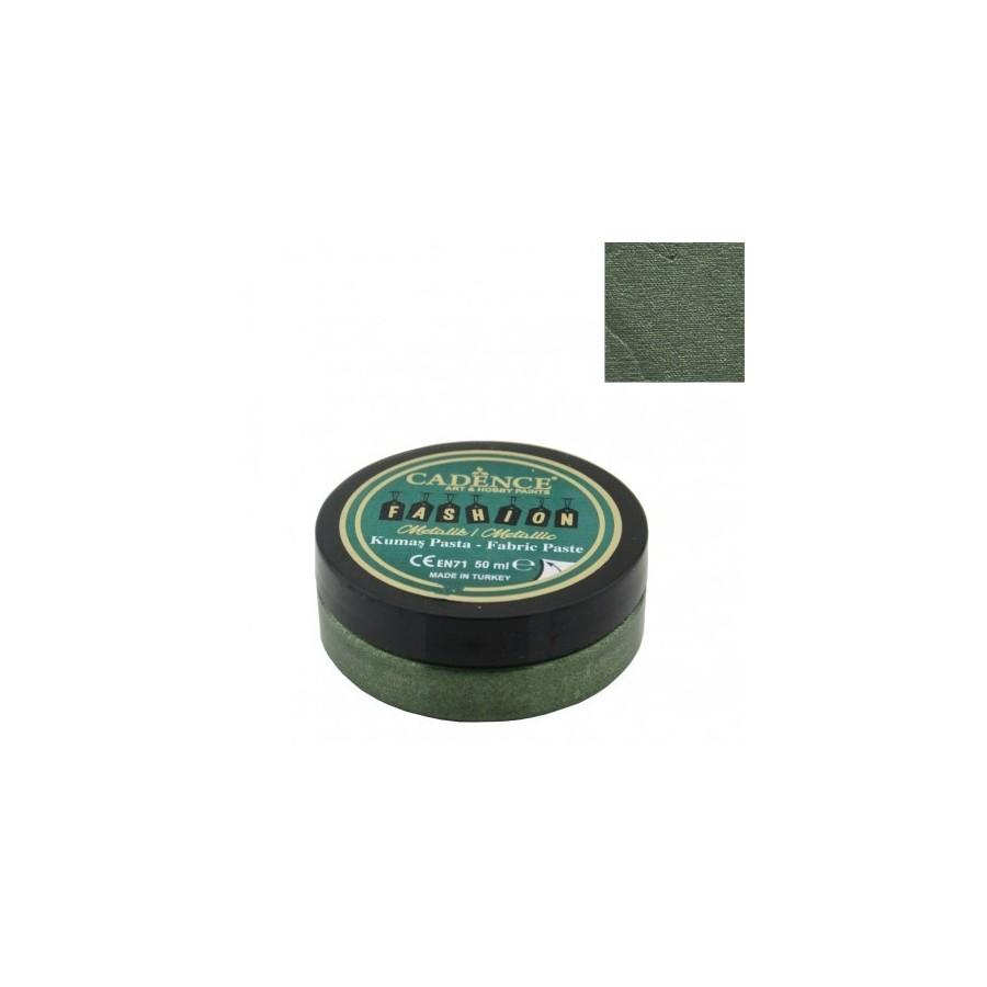 Pasta Textil FASHION METALLIC - Verde