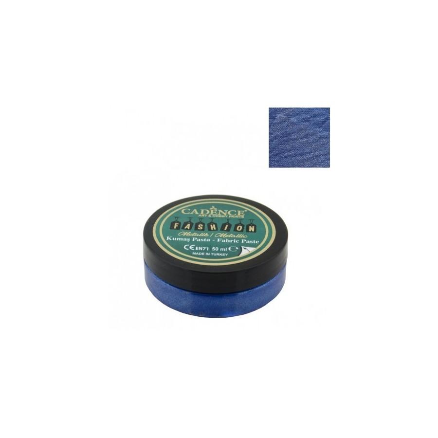 Pasta Textil FASHION METALLIC - Azul Sax