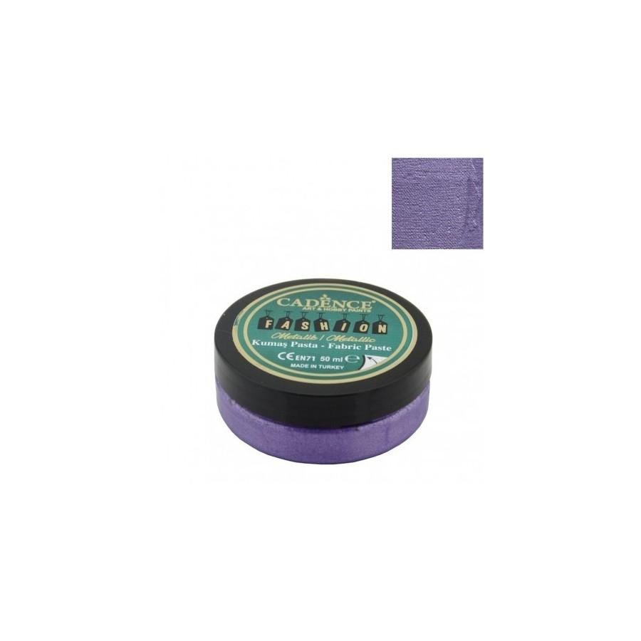 Pasta Textil FASHION METALLIC - Violeta