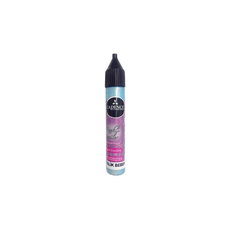 Coloured Pearls azul 25ml