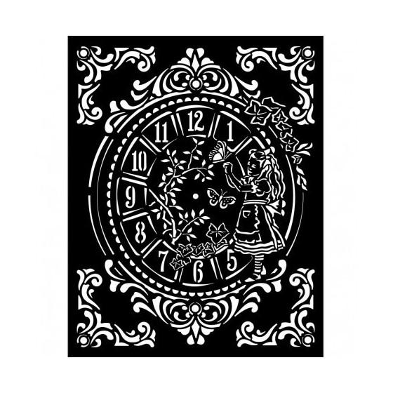 Stencil Stamperia Alice...