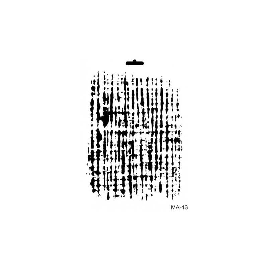 Stencil Mix Media FONDO ARPILLERA