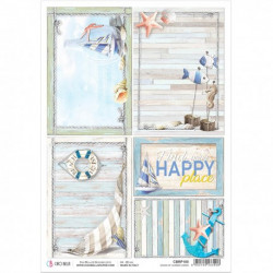Rice Paper A4 Summer Cards