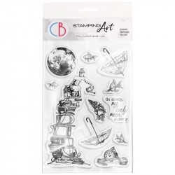 """Clear Stamp Set 4""""x6"""" Go..."""