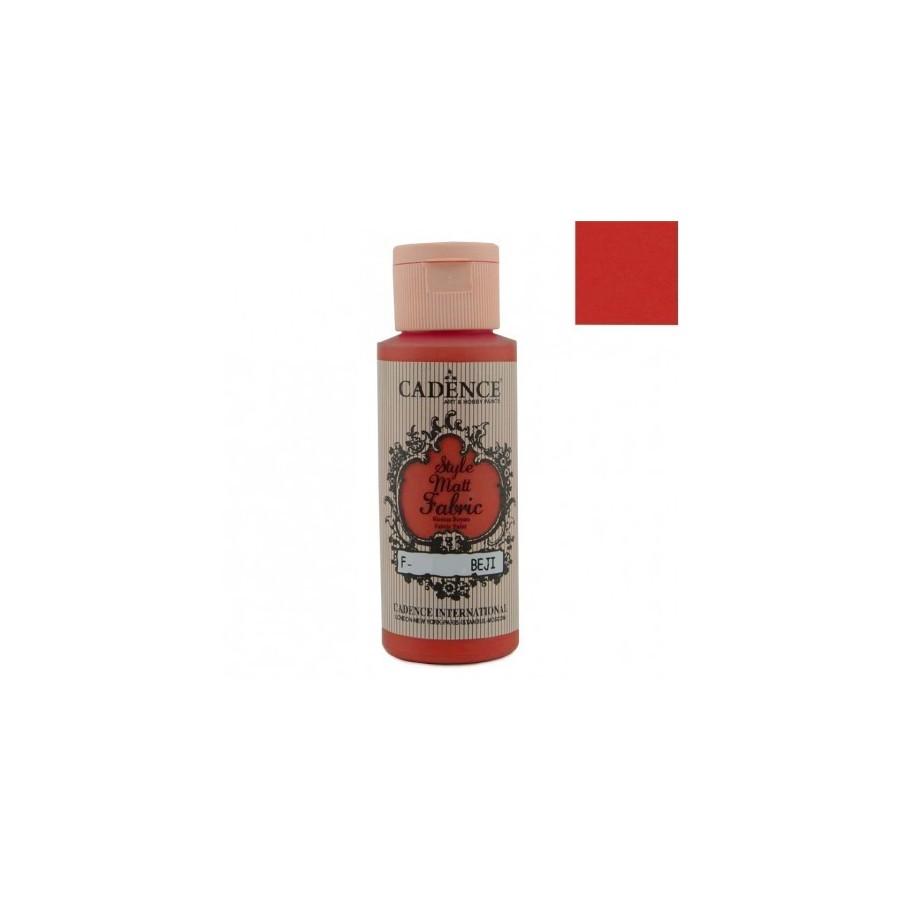 STYLE MATT FABRIC - Rojo Carmín