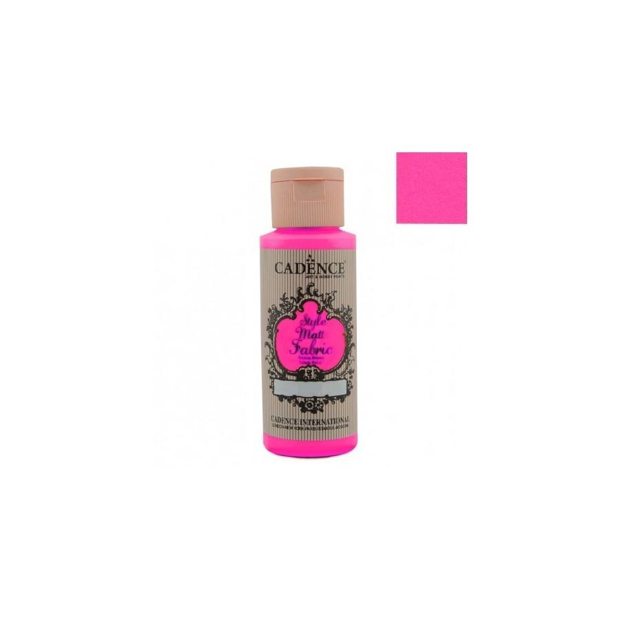 STYLE MATT FABRIC - Rosa Fluorescente
