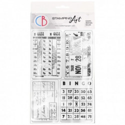 """Clear Stamp Set 4""""x6"""" Home..."""