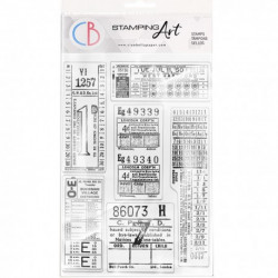 """Clear Stamp Set 4""""x6"""" Tickets"""