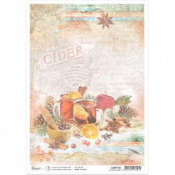Rice Paper A4 Hot Apple Cider