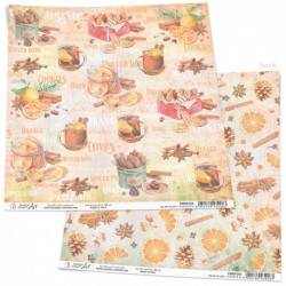Cinnamon & Co Paper Sheet...
