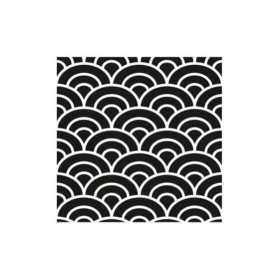 Stencil DECO3 45x45cm