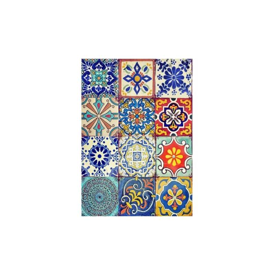 Papel de arroz azulejos