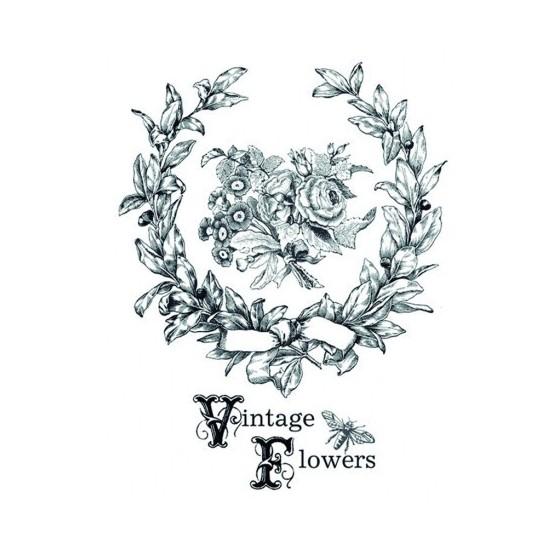 Transfers HOME DECOR Vintage Flowers