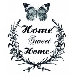 Transfers HOME DECOR Home Sweet Home