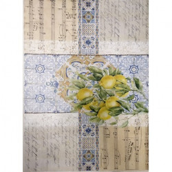 Papel De Arroz COLLAGE LIMONES