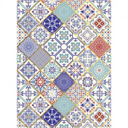 Papel de Arroz 053 Ethnic ORO