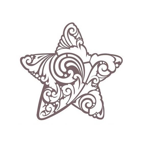 Stencil Shadow estrella