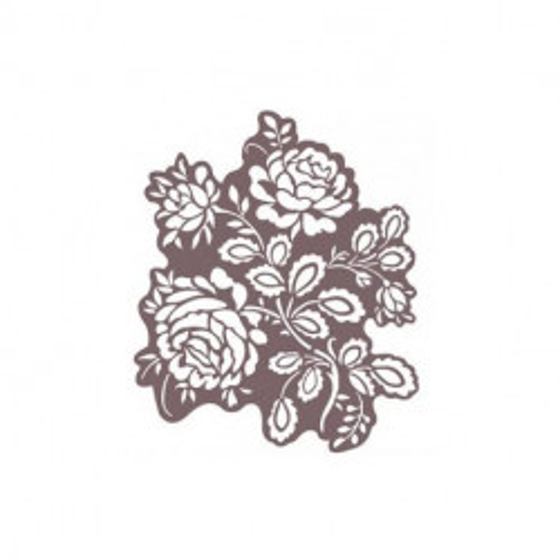 Stencil Shadow rosas