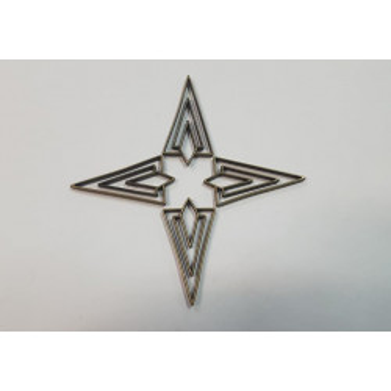 Charm metálico Geometría 1
