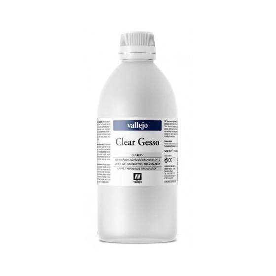Clear Gesso VALLEJO 500ml