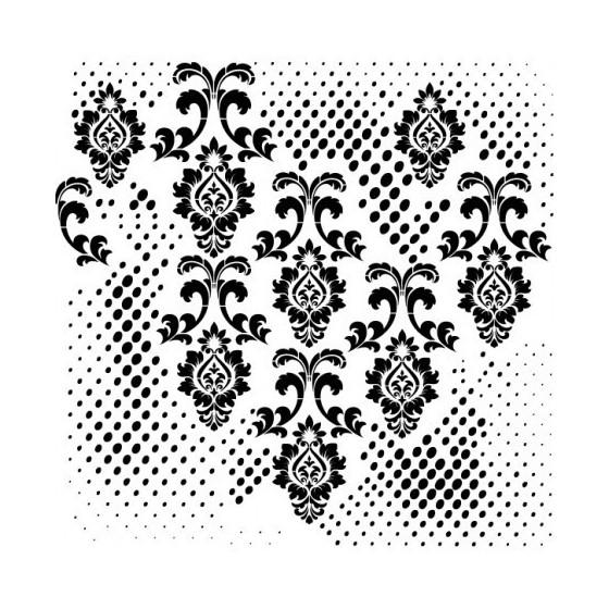 Stencil GRUNGE MIDI 25x25cm