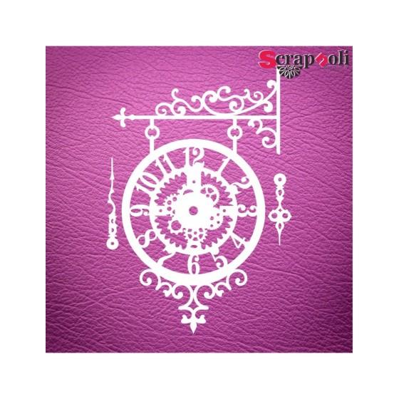 Chipboard Reloj C1