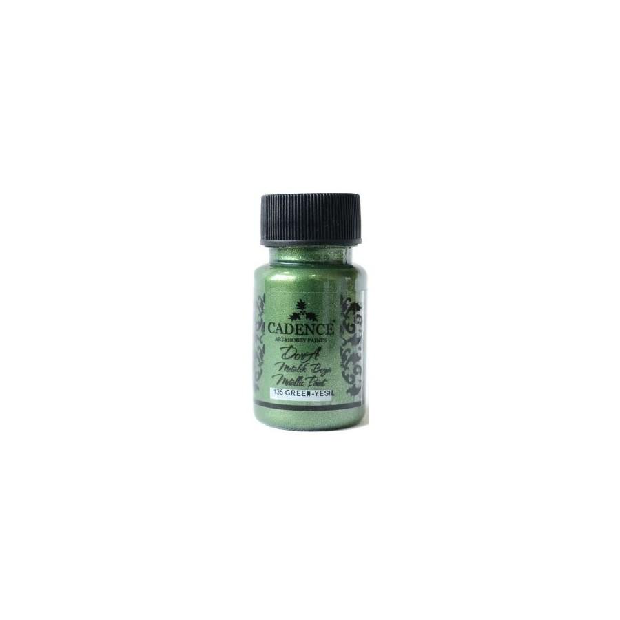 Dora Metallic verde