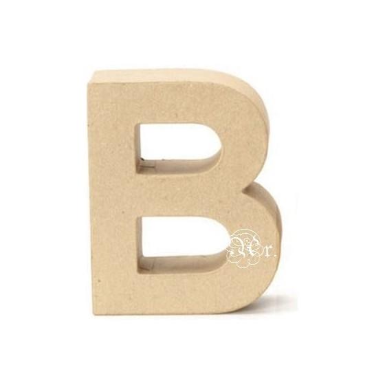 Papel Mache Letra B