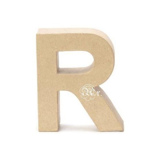 Papel Mache Letra R