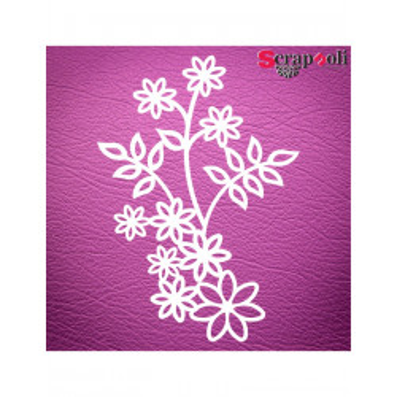 Chipboard Flores C1