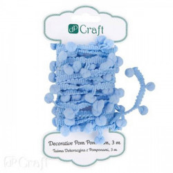 DECORATIVE POM POM TRIM, 3...