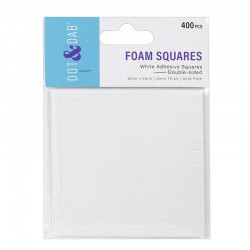 Dot and Dab Foam Squares...