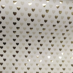 2 Papeles ROSSI Hearts 50x70