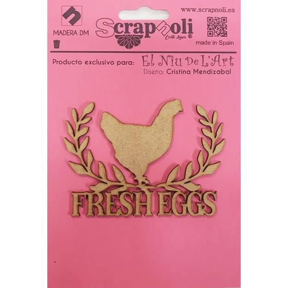 Silueta Fresh Eggs by...