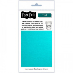 Wow Fab Foil - Teal