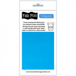 Wow Fab Foil - Turquoise