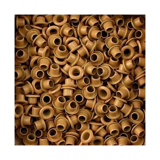 Set Eyelets 5 mm ochre...