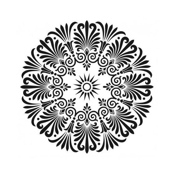 Stencil MANDALA  3 45x45cm